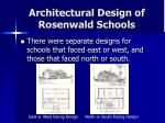 architectural design of rosenwald schools22