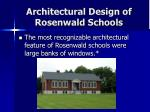 architectural design of rosenwald schools23