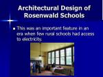 architectural design of rosenwald schools24