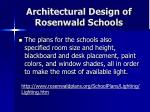 architectural design of rosenwald schools25