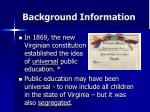 background information3