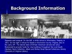 background information5