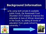 background information6