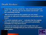 death strokes