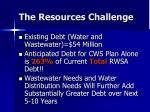the resources challenge11