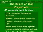 the basics of map projections