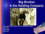 big brother the holding company
