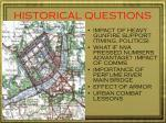 historical questions