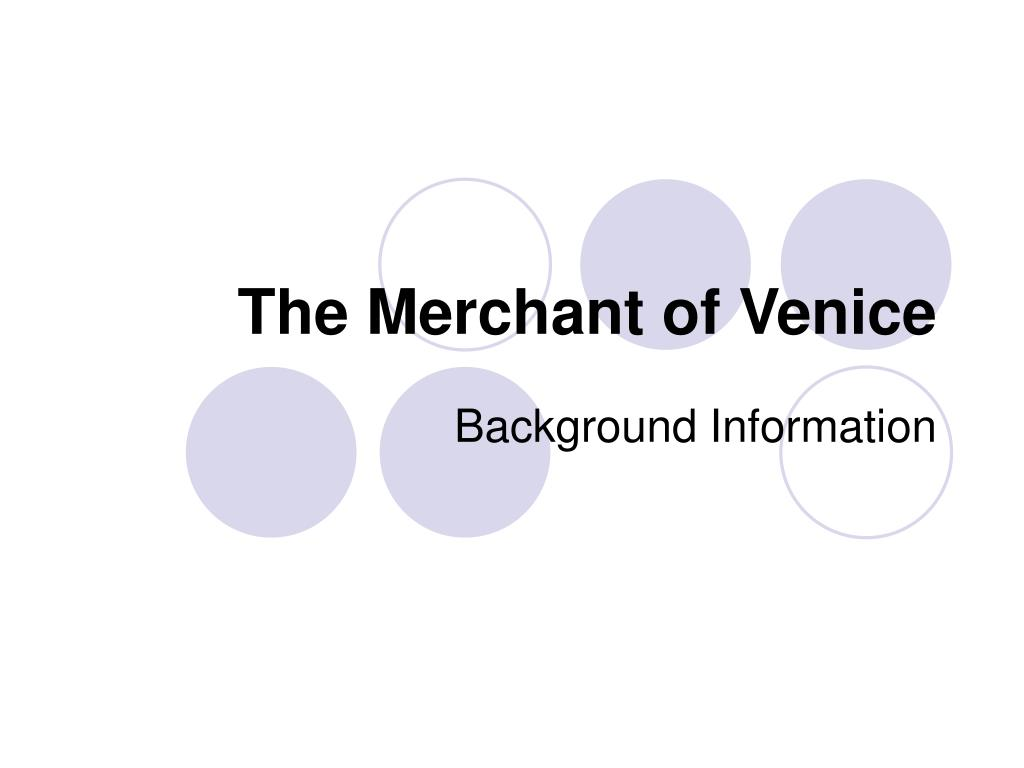 the merchant of venice l.
