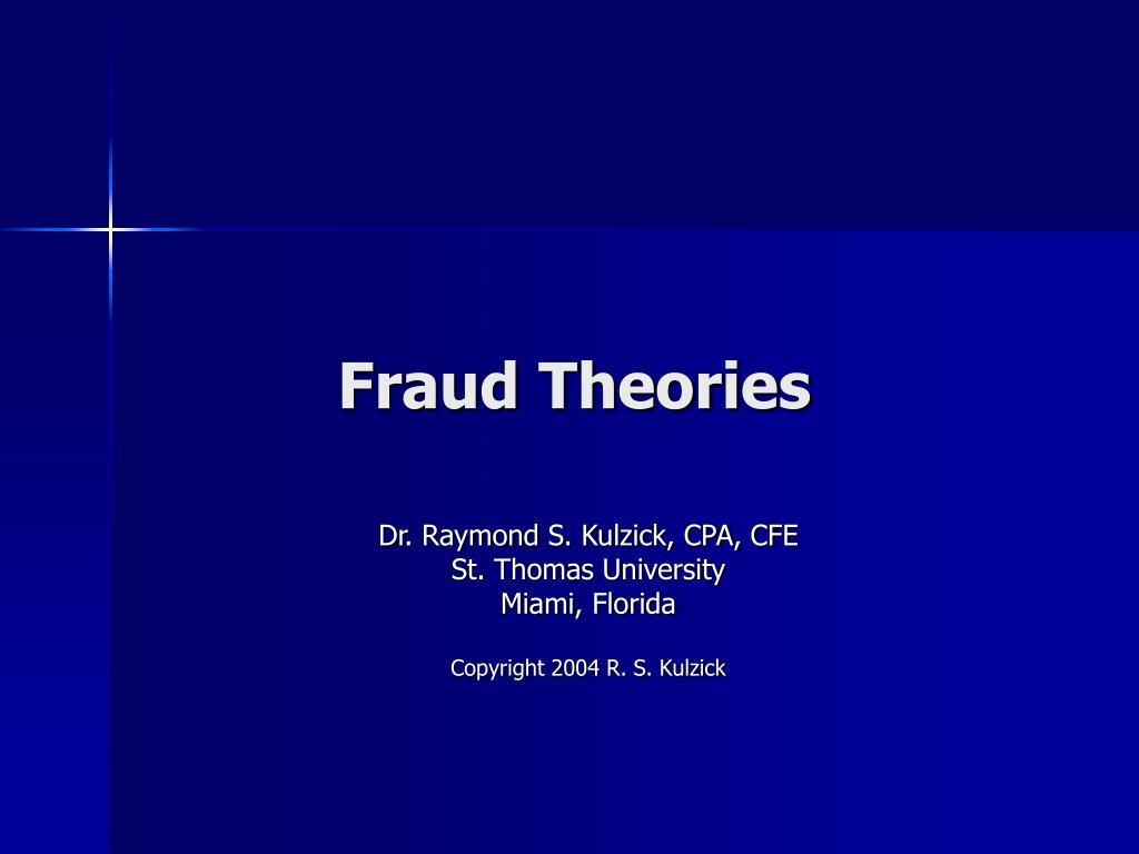 fraud theories l.
