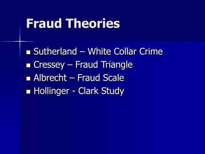 Fraud theories2