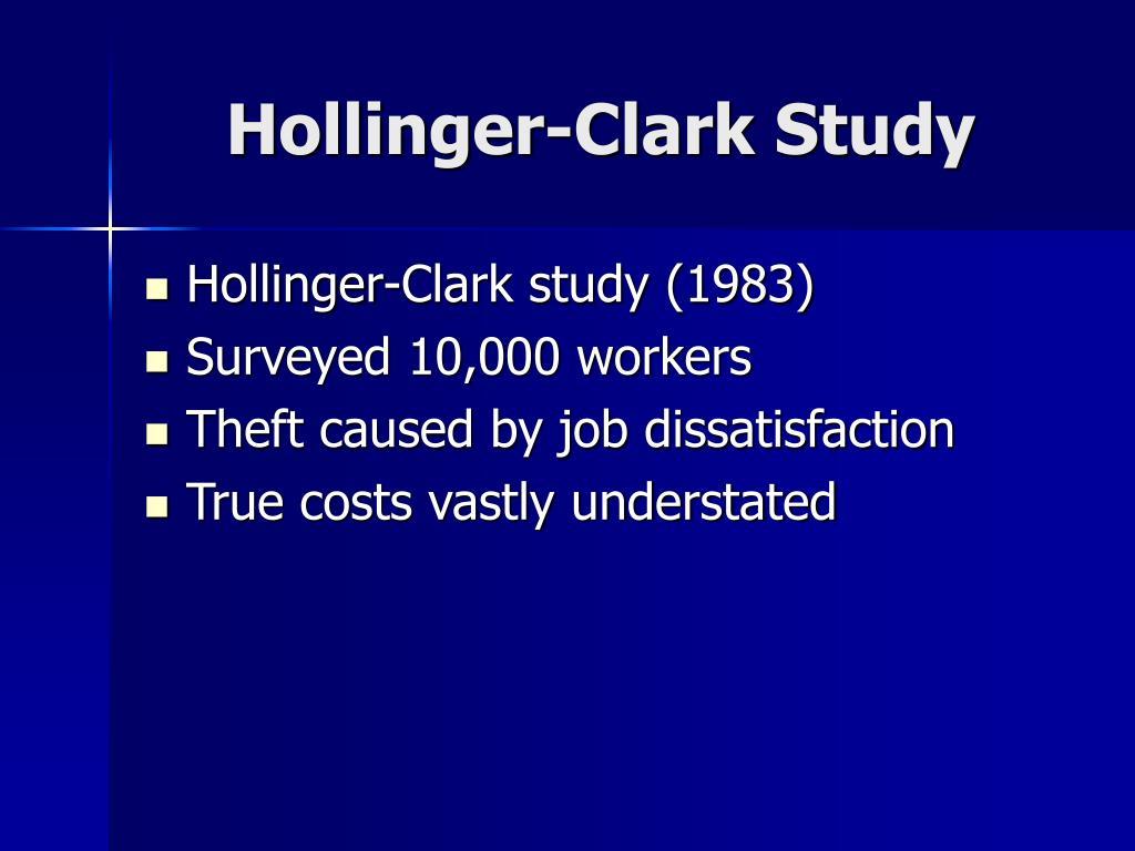Hollinger-Clark Study