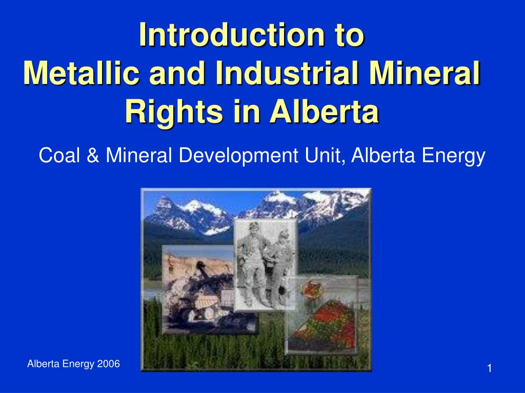 how to buy mineral rights in alberta