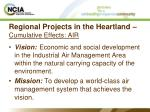 regional projects in the heartland cumulative effects air