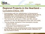 regional projects in the heartland cumulative effects air12