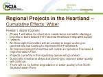 regional projects in the heartland cumulative effects water17