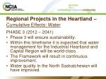regional projects in the heartland cumulative effects water19
