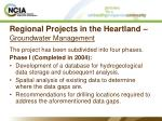 regional projects in the heartland groundwater management26