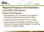 regional projects in the heartland groundwater management28