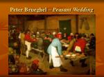 peter brueghel peasant wedding