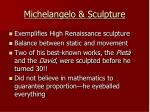michelangelo sculpture