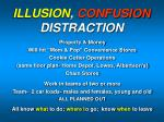 illusion confusion distraction
