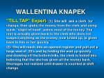 wallentina knapek