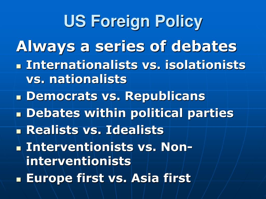 us foreign policy l.