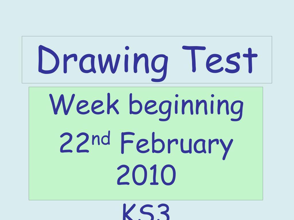 drawing test l.
