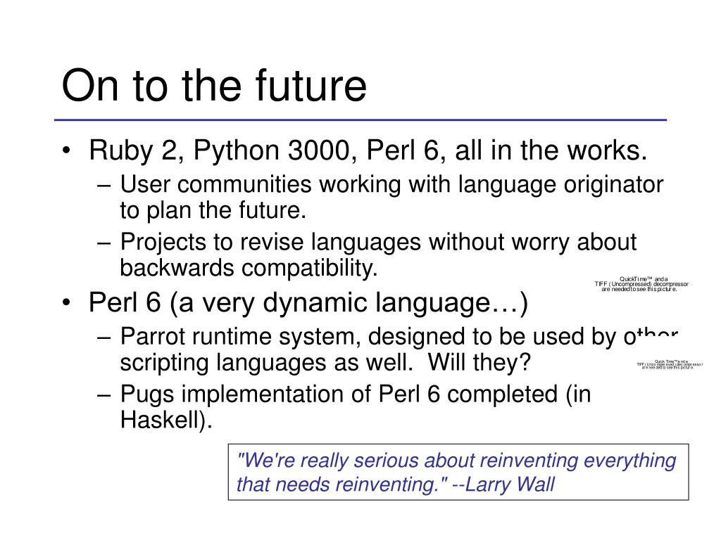 PPT - Scripting Languages PowerPoint Presentation - ID:188193