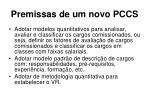 premissas de um novo pccs14