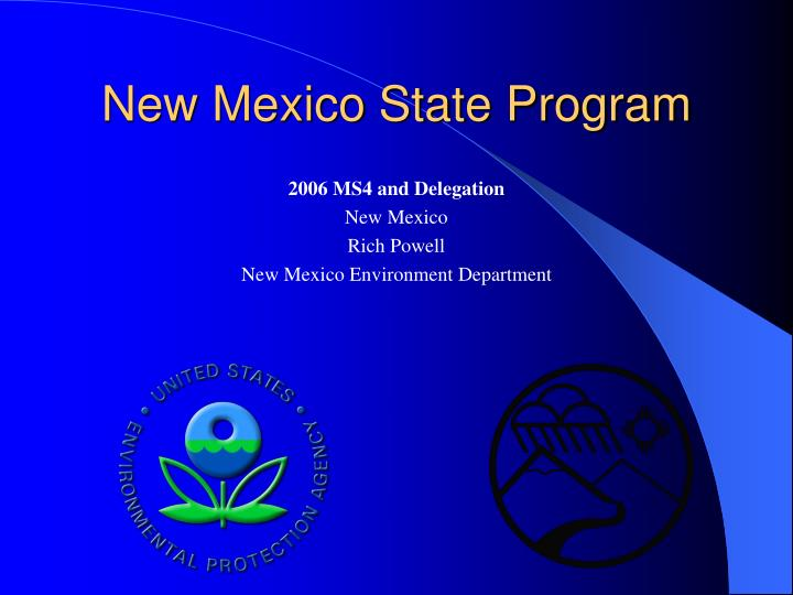new mexico state program n.