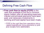 defining free cash flow7