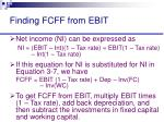 finding fcff from ebit25