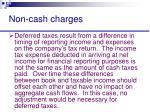 non cash charges20