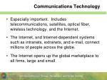 communications technology