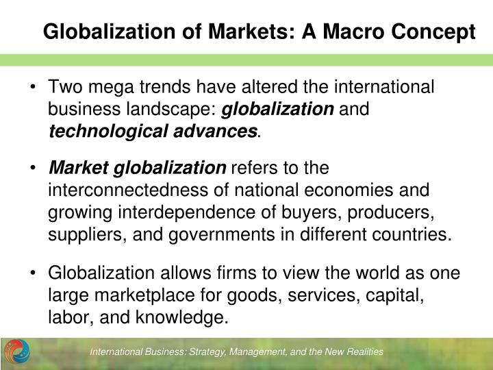 globalization and its effect on international business essay Globalization has been proven to be a primary area of research that has been carried out in various cultural contexts (pothukuchi et al, 2002)globalization has also been proven to have a big effect in the arab world as it has immensely affected practices in business and styles of management.