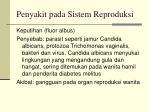 penyakit pada sistem reproduksi34