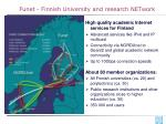 funet finnish university and research network