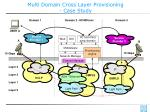 multi domain cross layer provisioning case study