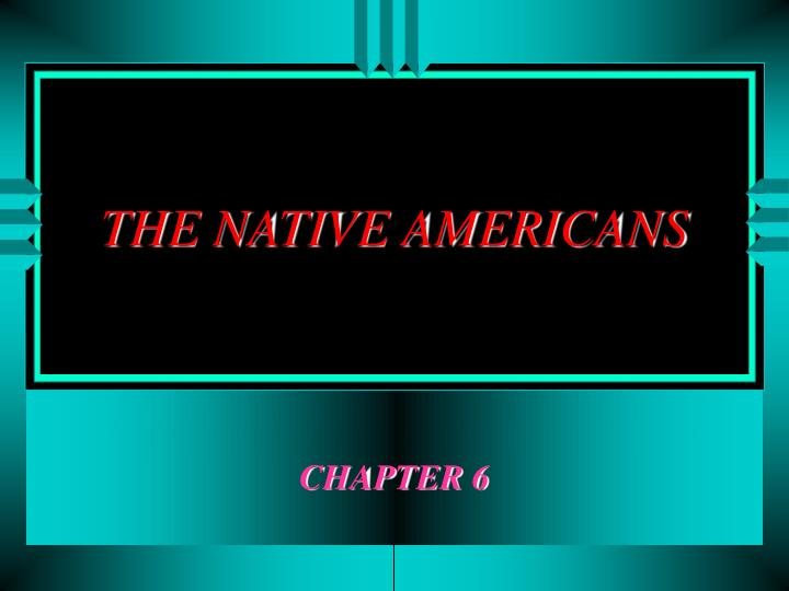the native americans n.