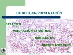 estructura presentaci n