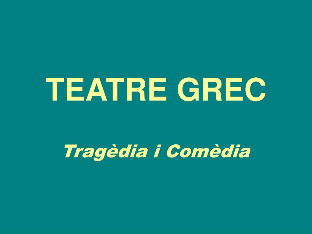 teatre grec l.