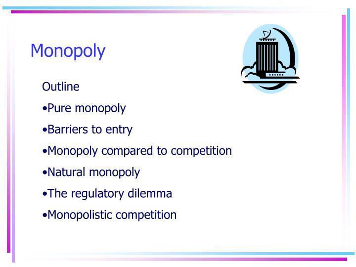monopoly n.