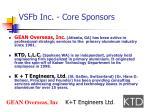 vsfb inc core sponsors