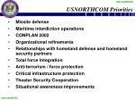 usnorthcom priorities