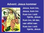 advent jesus kommer9