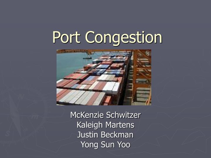port congestion n.