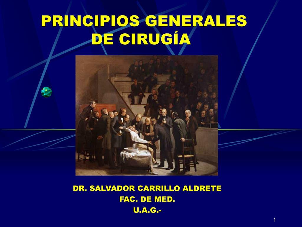 principios generales de cirug a l.