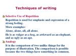 techniques of writing30